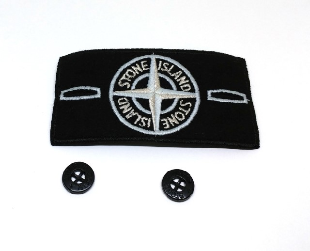 glow in the dark stone island badge – stone island replacement badges